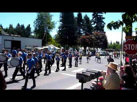 Hockinson Middle School Band at Hockinson Fun Days 2011