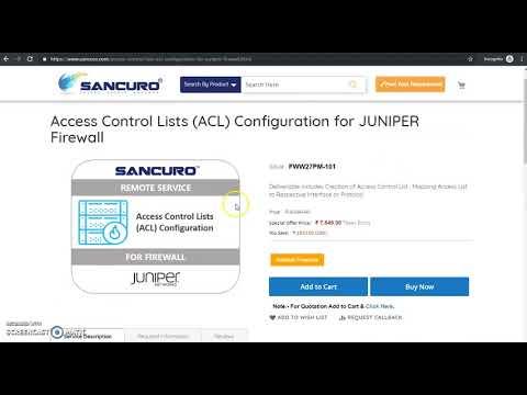 How To Configure Juniper Firewall