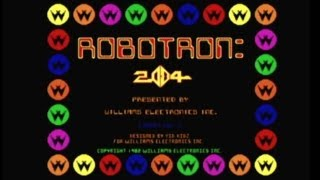 CGRundertow ROBOTRON 2084 for Arcade Video Game Review