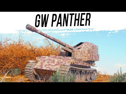 GW Panther в ТРОФЕЙНОМ ОБОРУДОВАНИИ