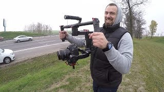 Как снимает камера за 200.000 (3000$)Canon 6d Mark2+ronin.Обзор.
