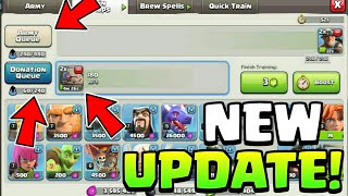 NEW UPDATE NEW BARRACKS IN CLASH OF CLANS CONCEPT | Clash Of Clans New Update |
