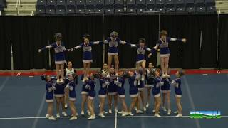 2015 Maine High School Cheering Championships Classes A and D.