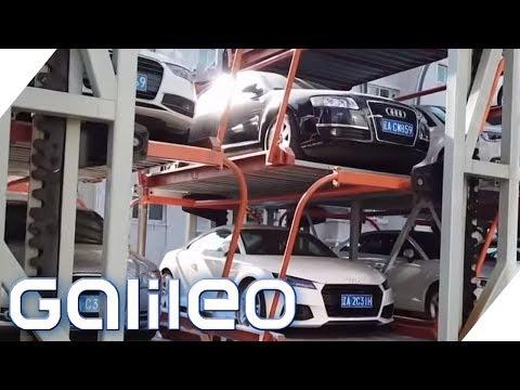 What the Fakt: Rotierendes Parkhaus aus China | Galileo | ProSieben