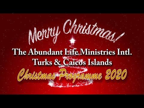 The Abundant Life Ministries Intl. Christmas Programme 2020