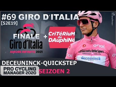 Giro d'Italia - Finale + Dauphiné   Deceuninck-Quickstep - EP69 [EXT - S2]   ProCyManager 2020