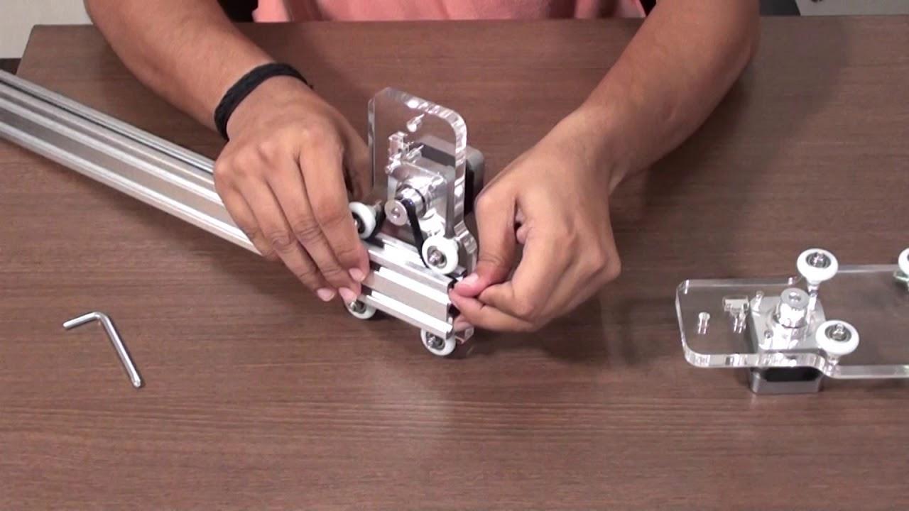 Mini Laser Engraving DIY Kit w/t 500mW Laser GRBL Compatible