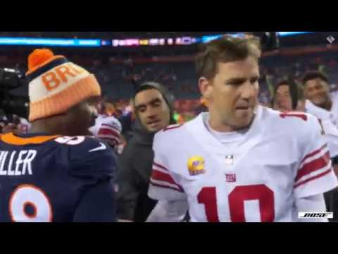 Sights and Sounds: Giants vs. Broncos
