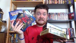 Movie Collection update! 8/18/18  Blu ray & VHS(Vestron video, Arrow video, Godzilla!)