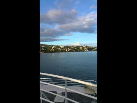 Boat ride from Tahiti to Moorea