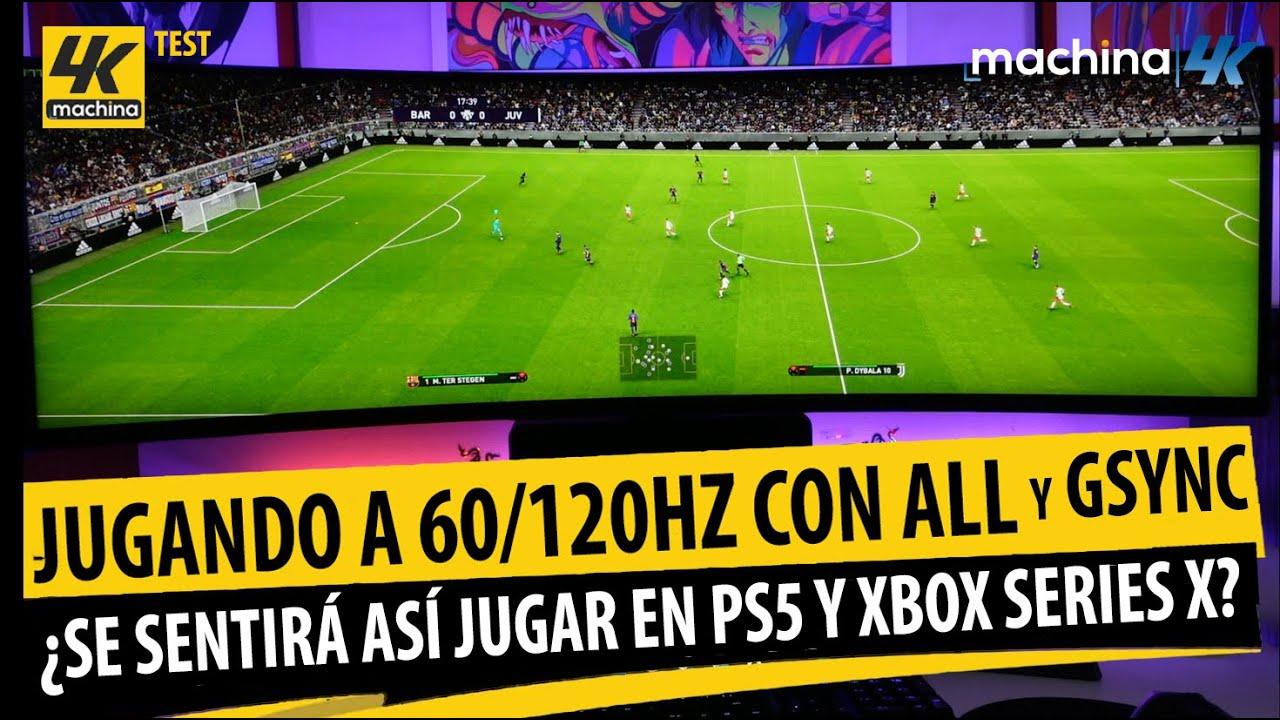 Test: Gameplay 60 / 120hz ALL & Gsync Activo ¿Se Sentirá así jugar en PS5 y Xbox Series X ?
