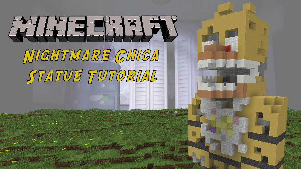Minecraft picture tutorial choice image any tutorial examples minecraft tutorial nightmare chica five nights at freddys 4 minecraft tutorial nightmare chica five nights at baditri Gallery