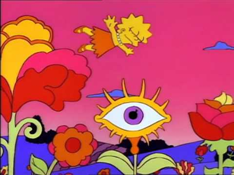 The Simpsons Lisa In The Sky With Diamonds Youtube