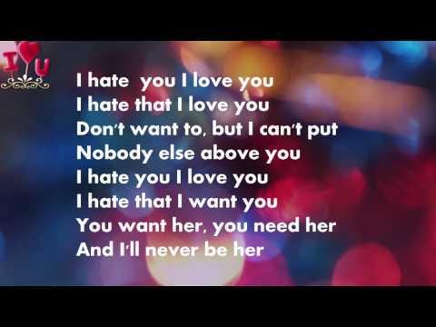 Gnash - i hate u, i love u ft. Olivia O'brien [lyrics video]
