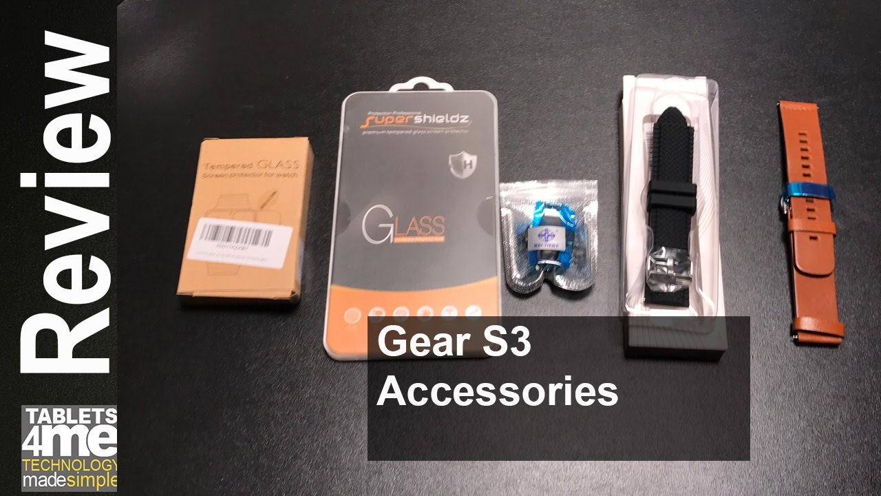gear s3 frontier accessori  Samsung Gear S3: Things to buy for new Watch! - YouTube