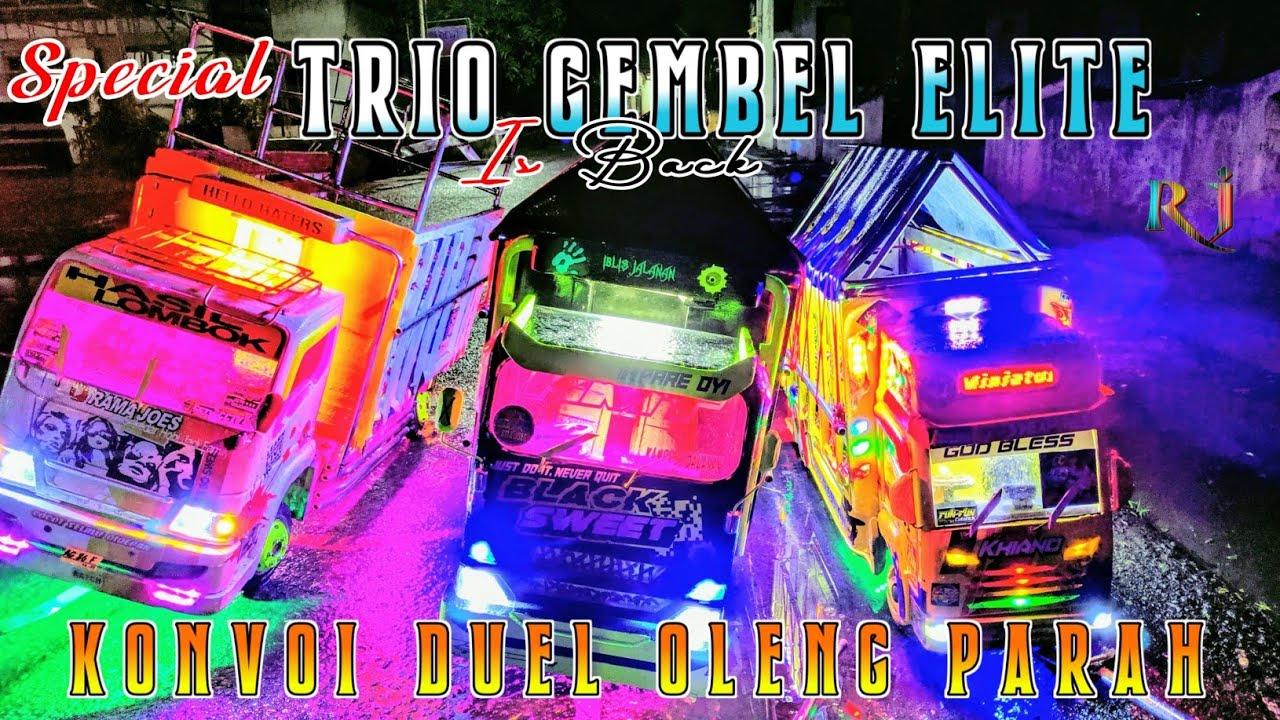 Trio Gembel Elite Is Back Oleng Parah 🔥 Truk Miniatur Oleng Terbaru
