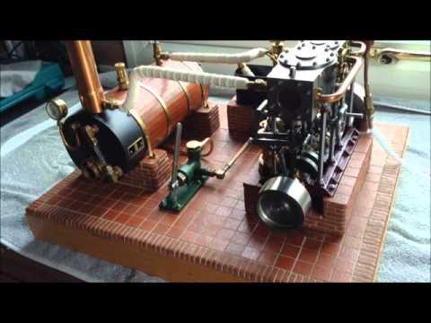Stuart triple expansion steam plant