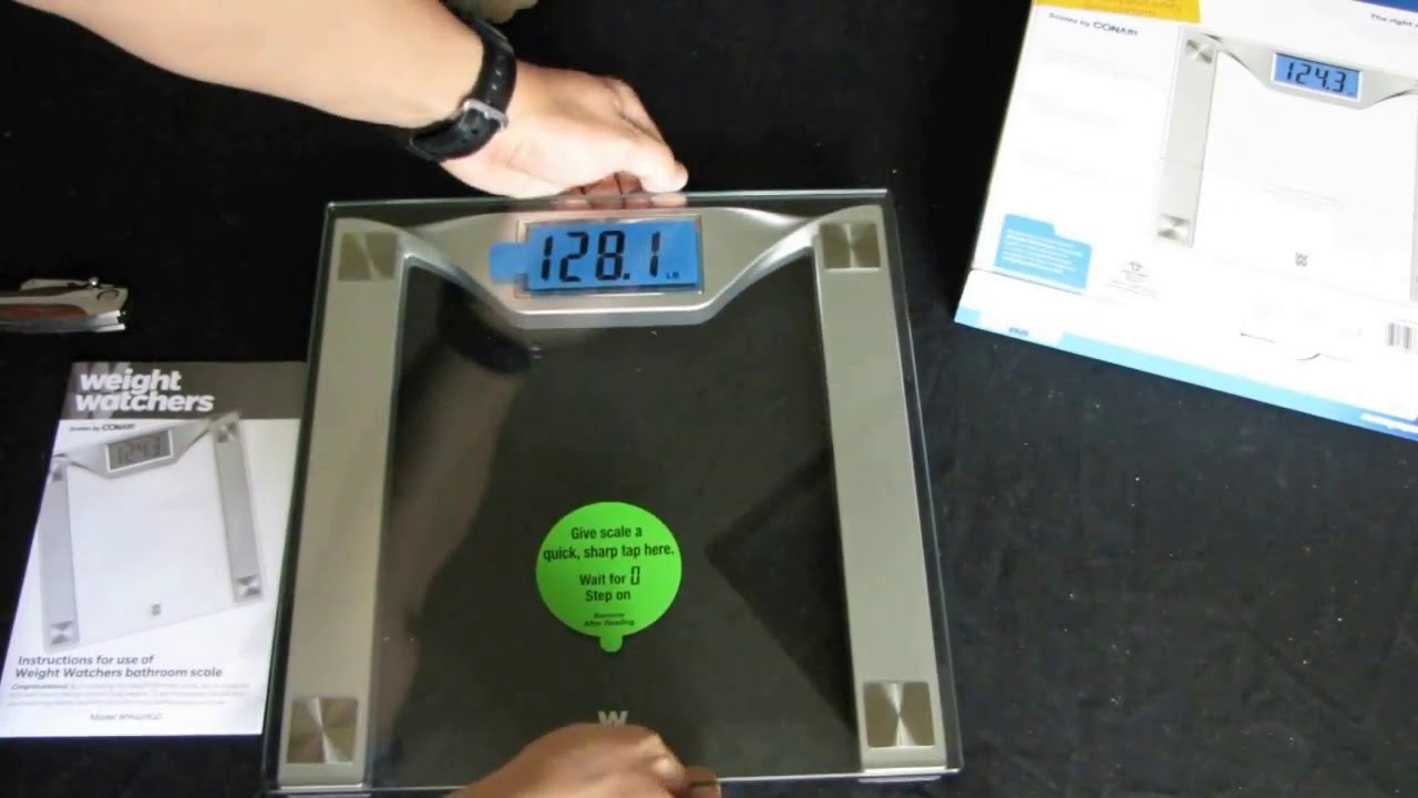 Weight Watchers Scales By Conair Unpacking Review Testing Youtube