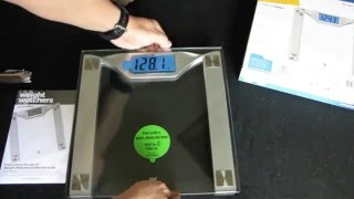 Weight Watchers Scales by Conair Unpacking Review Testing