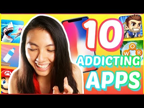🔥TOP 10 Best FREE Addicting Games For IPhone And Android : Apps YOU NEED! | Katie Tracy