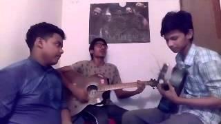 Aj tomar mon kharap meye cover by (druvo rhythm)