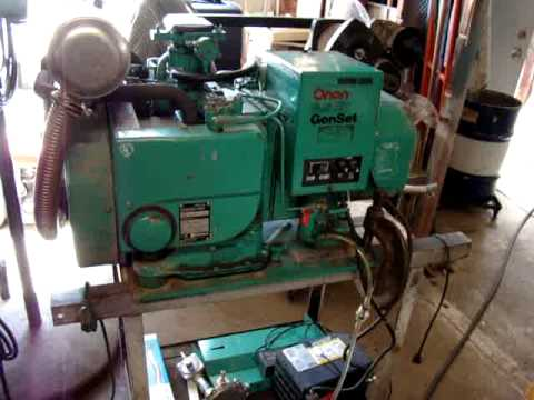 220 volt wiring diagram 8145 20 onan 6.5 nh generator first run on gasoline - youtube