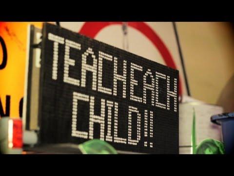Teacher Drops Some Knowledge | LA Street Art Gallery