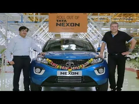 Tata Nexon First Car Rolled Out Of Company