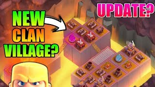 NEW CLAN VILLAGE IS COMING IN CLASH OF CLANS? | 5 CONCEPT MAY BE ADD IN CLASH OF CLANS IN FUTURE!