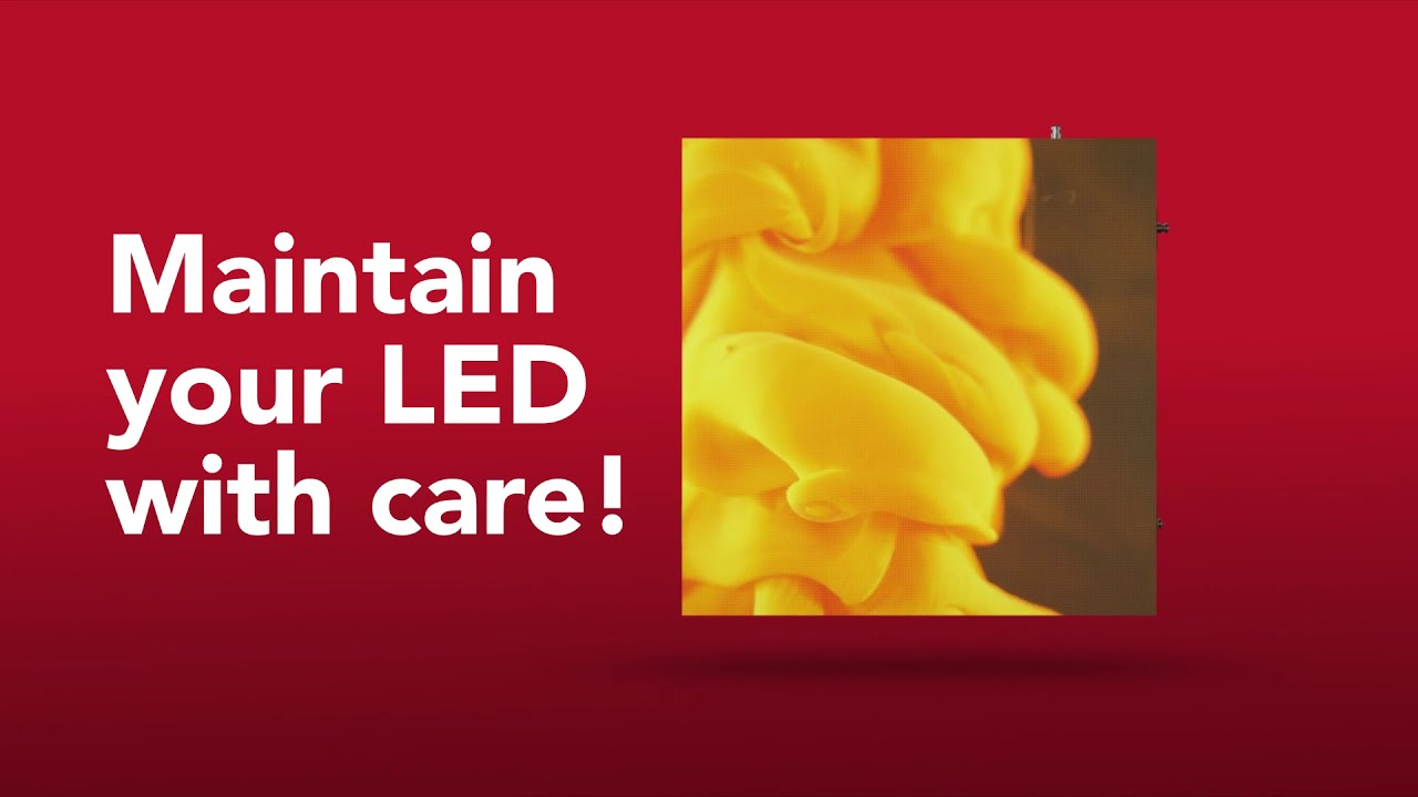 Maintain your LED with Care! - Service Level Agreement (SLA)