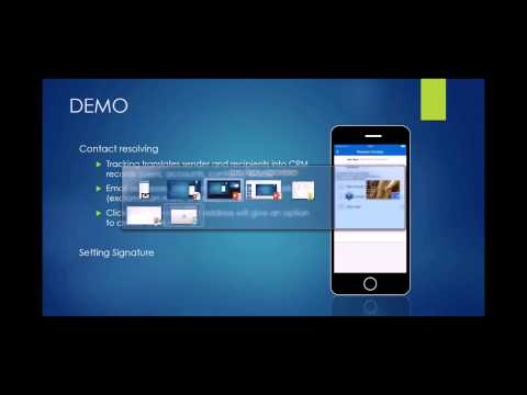Webinar Summer Release 2015 of Resco Mobile CRM (Dropbox, Phone contacts import, other)