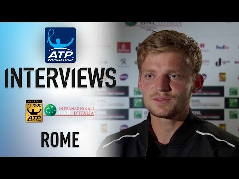 Goffin Looks Forward To 'Great QF' Against Zverev In Rome 2018