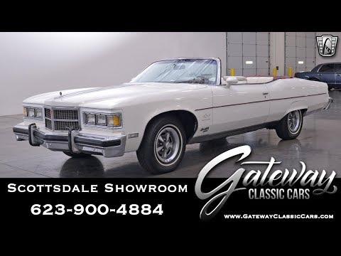 1975 Pontiac Grand Ville Brougham Gateway Classic Cars Scottsdale #518