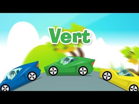 Learn Colors with Cars in French for Kids - تعليم ألوان السيارات باللغة الفرنسية للاطفال thumbnail
