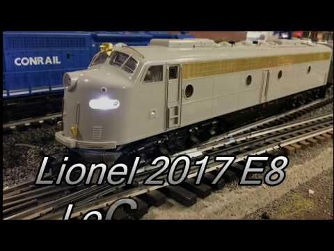 Preview of the Lionel 84081 Conrail E8 A-A locomotive set