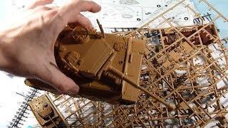 сборка модели танка Tiger I 1/35 ZVEZDA