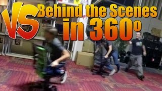 Behind the Scenes in 360 degrees - Ray Vs Gavin Ep 98