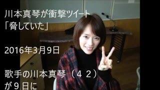 川本真琴が衝撃ツイート・彼女は 「脅していた」 歌手の川本真琴(42...