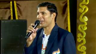 Atul Vidyalaya - Annual Day 2016 - Mr. Devendra Jhajharia