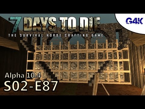 North Wall Construction | 7 Days To Die Gameplay | S02E87
