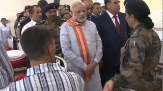 PM Modi visits India-Tajik Friendship Hospital in Quarghan Teppa, Tajikistan