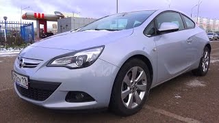 2012 Opel Astra J GTC. Start Up, Engine, and In Depth Tour.