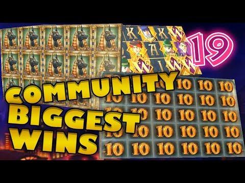 CasinoGrounds Community Biggest Wins #19 / 2018