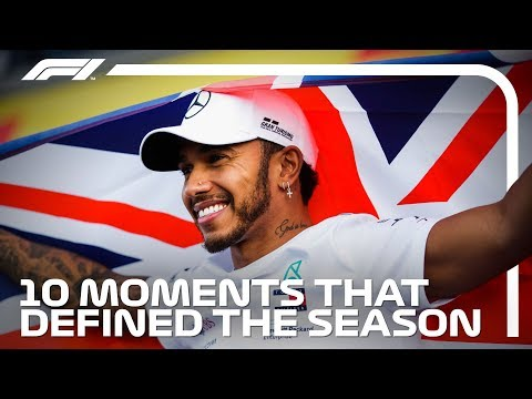 10 Moments That Defined Lewis Hamilton's 2018 Title-Winning Season