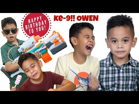 Happy Birthday Owen ke-9 🎉 🎂 VLOG!! Sushi 🍣 Dinner Party! | TheRempongsHD