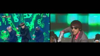 BTS 방탄소년단 & Rain 비 - Rainism 레이니즘 comparison