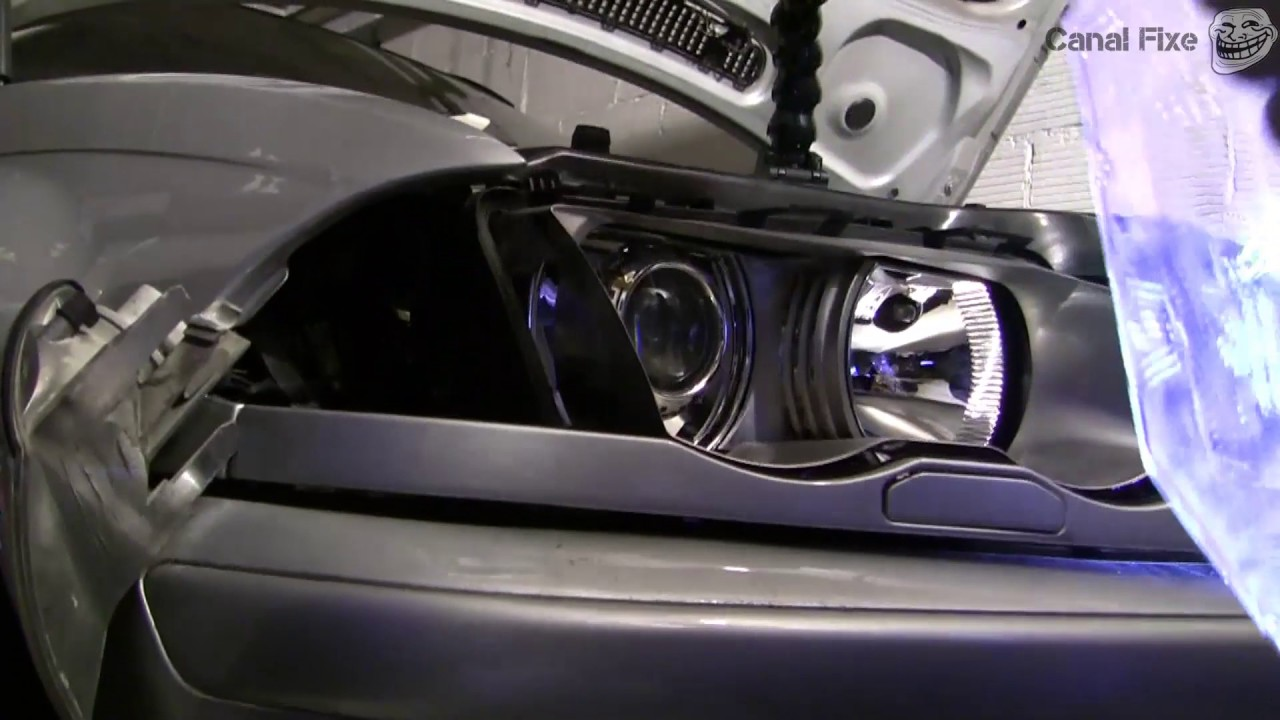 how to change bmw e46 headlight cover hd quality  [ 1280 x 720 Pixel ]