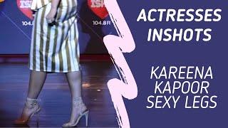 Kareena Kapoor Sexy Feet & Thighs | Kareena in Skirt and Hot heels