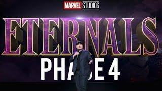 MARVEL PHASE 4 OFFICIAL REVEAL AT SDCC 2019 - MCU FUTURE FILMS