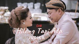 JUDIKA - HILANG TAPI ADA (LIRIK} - Pernikahan Atta Halilintar Dan Aurel Hermansyah